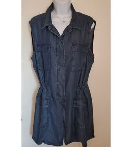 Buffalo David Bitton Chambray Vest
